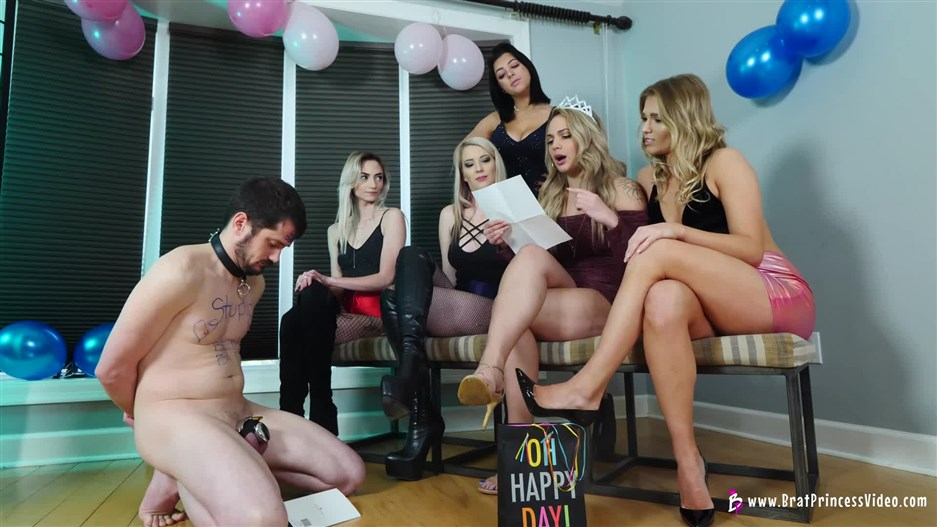 Brat Princess 2 – 3 Month Chastity Blue Ball Party