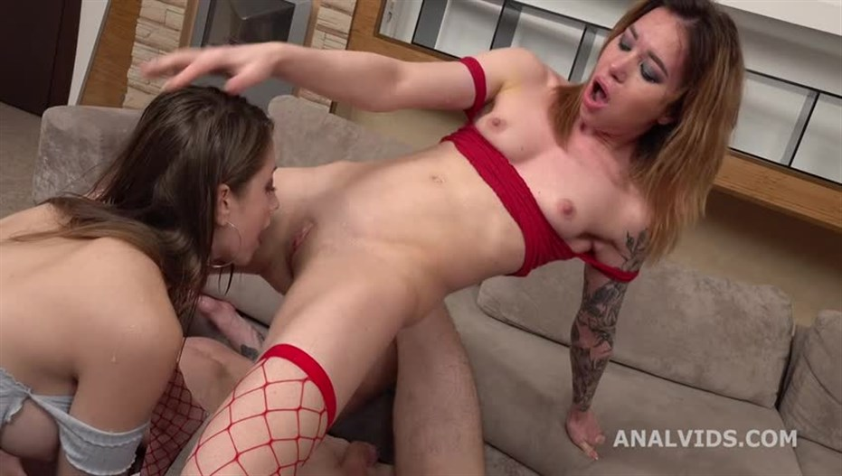 Monika Wild, Alita Angel - Russian Nympho, Alita Angel Meets Monika Wild For Balls Deep Anal, DAP, Gapes, Squirt Drinking, Anal Fisting And Cum Play GL335
