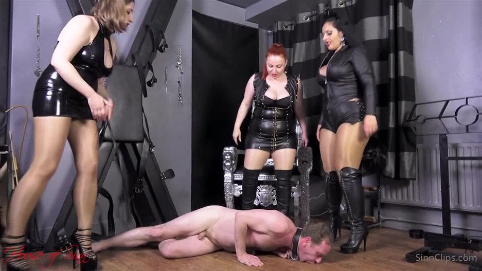 House of Sinn – A Human Spittoon Treatment For The Eager Whore