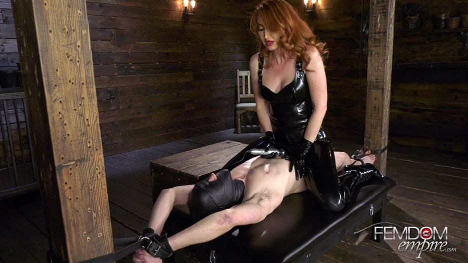 Femdom Empire – Caged Boy Batter – Kendra James