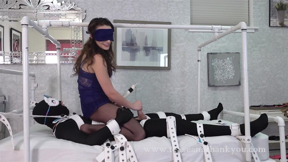 Tease and Thank You – Blindfolded Cum Race – Lucid Lavender
