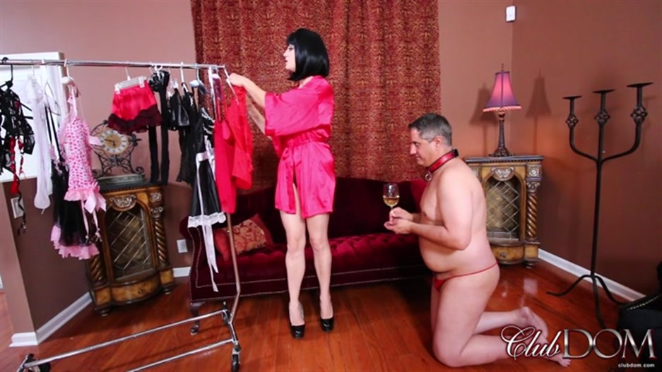 ClubDom - Jean Bardot - Sissy Training Part 1: Dress and Suck!