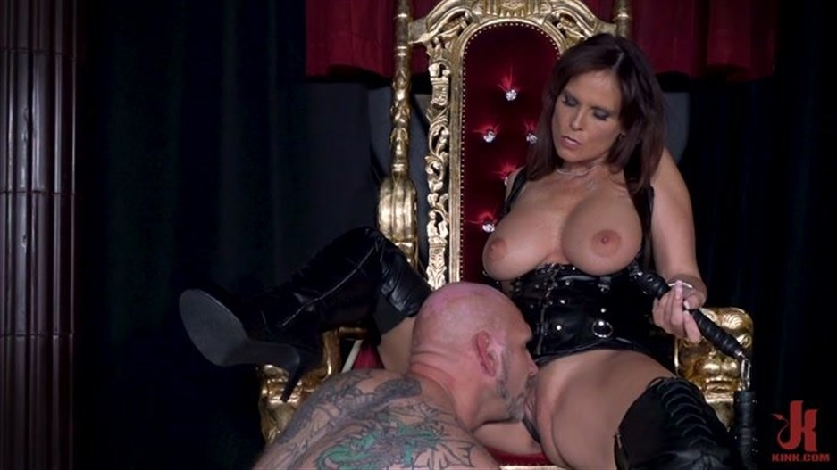 Filthy Femdom - Syren De Mer, Rick Stronghold - Yes My Queen - Syren De Mer Dominates Her Daddy For The First Time!